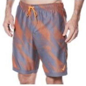 "Nike Horizon 11"" Volley Men's Swim Trunks, Size L"